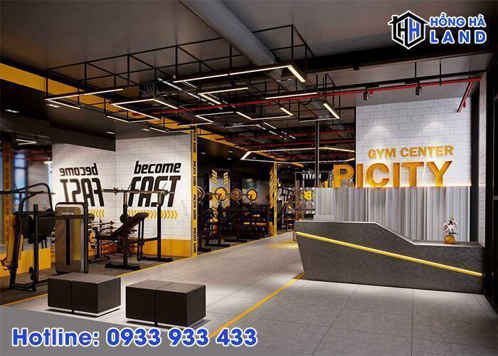 Tiện ích Gym Center tại Picity High Park 2020