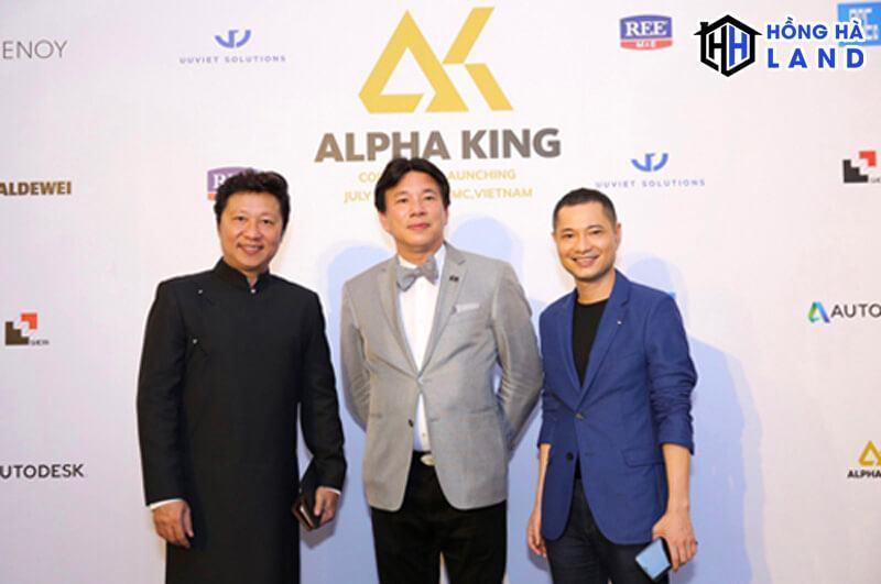 CEO của chủ đầu tư Alpha King