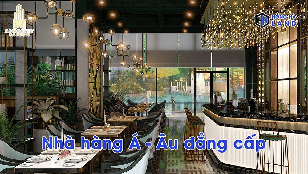 Nhà hàng Á Âu đẳng cấp Sunshine City
