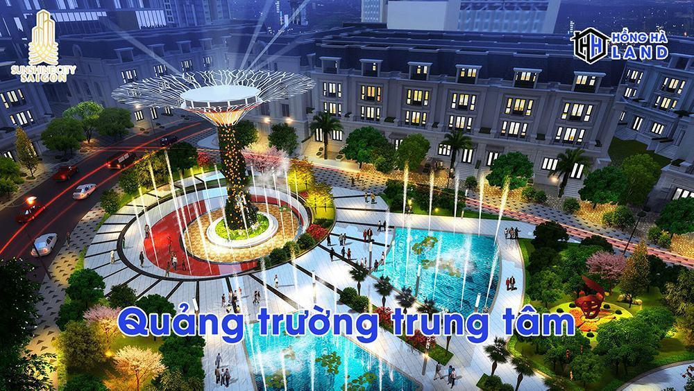 Quảng trường trung tâm Sunshine City