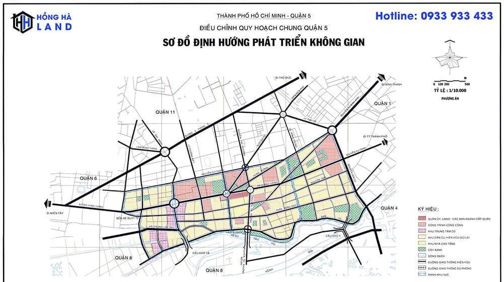 Bản đồ quy hoạch Quận 5 mới nhất 2020
