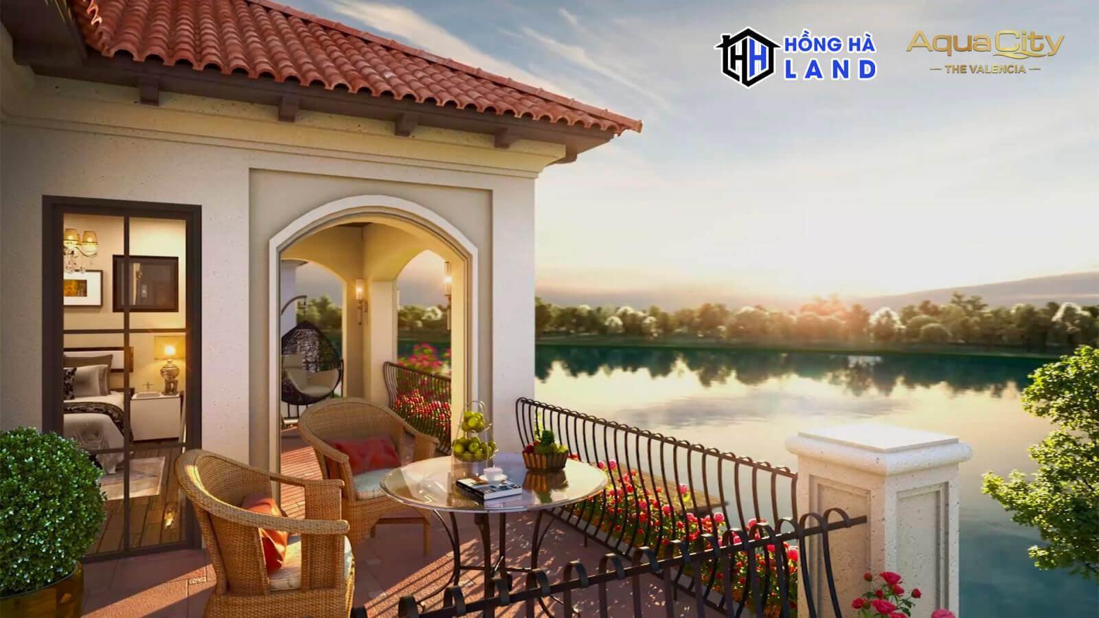 Hình ảnh nhà mẫu The Valencia Aqua City