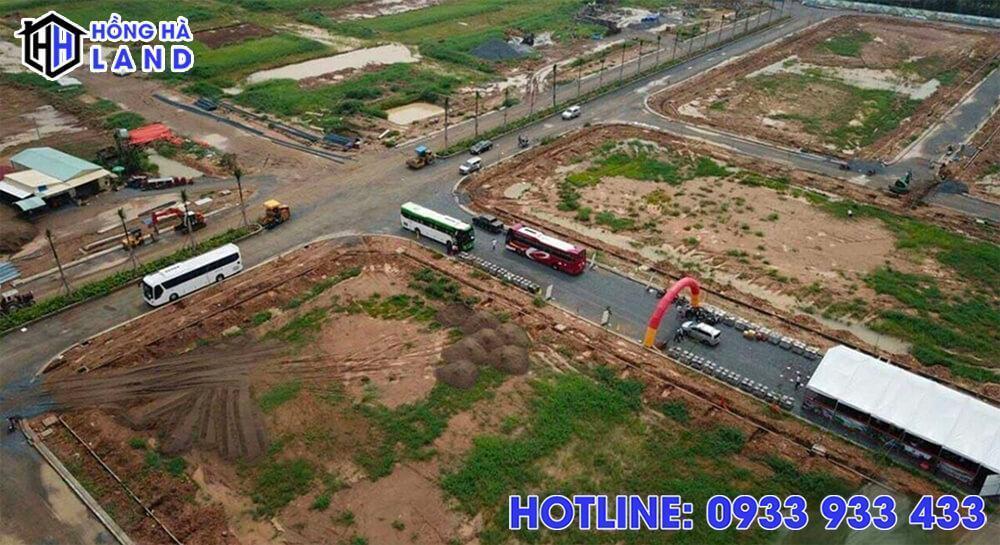 Hình ảnh thực tế dự án Vietuc Varea Long An