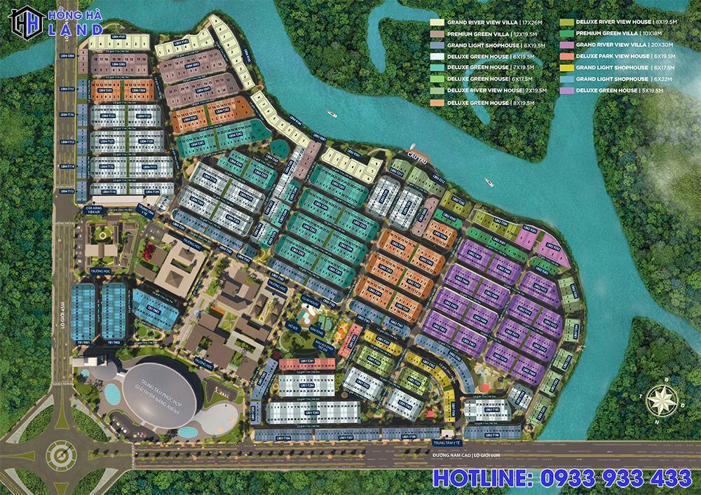 Phân khu Sun Harbor tại Aqua City