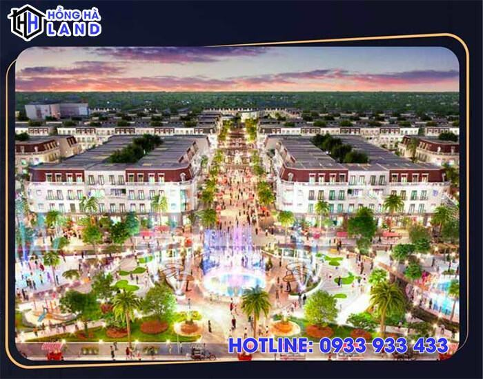 Quảng trường nhạc nước Light Square