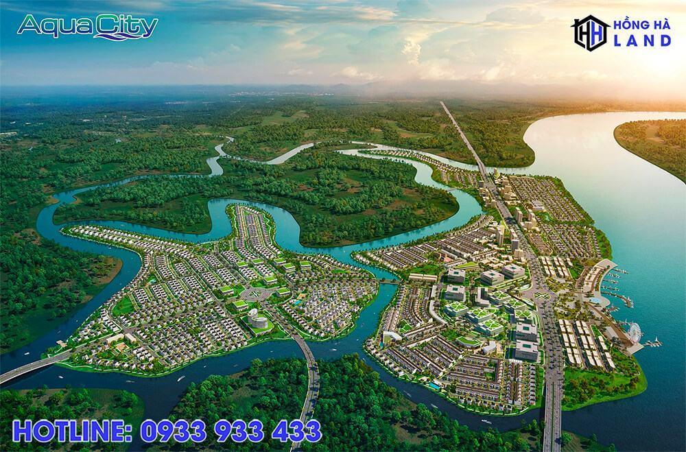 Tổng thể dự án khu đô thị Aqua City