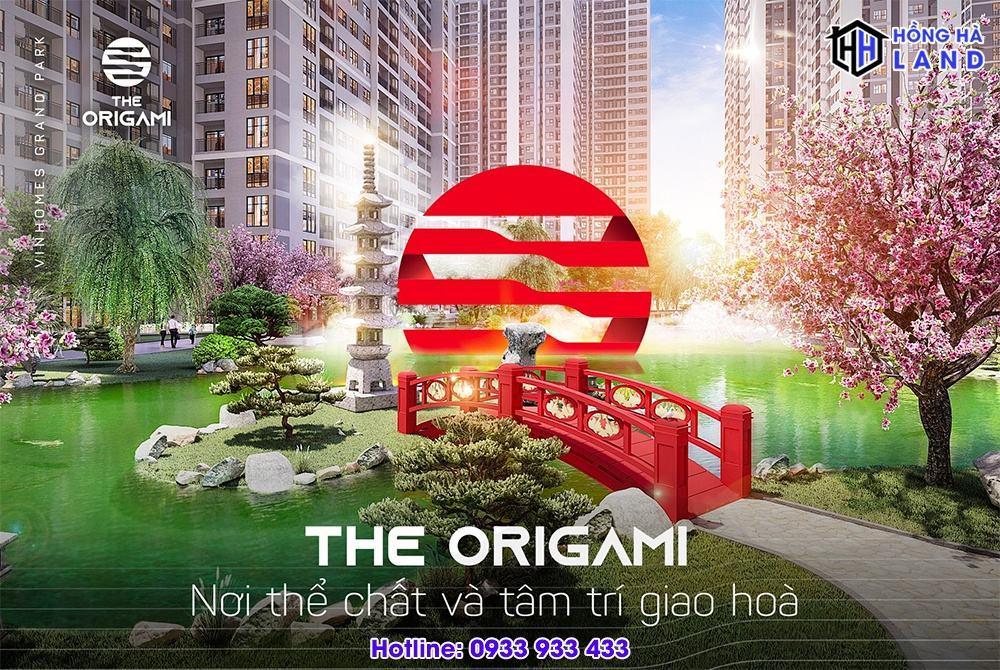 Tổng thể phân khu The Origami Quận 9