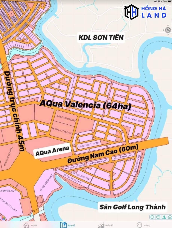 Vị trí đắc địa tại phân khu Valencia Aqua City