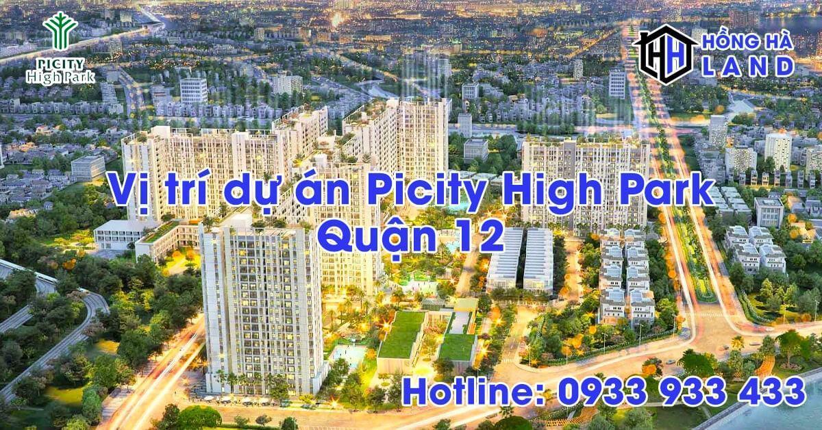 Vị trí dự án Picity High Park