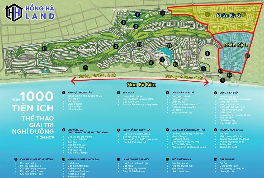 1000 tiện ích thể thao giải trí nghỉ dưỡng Novaworld Phan Thiết