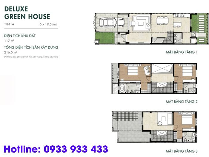 Deluxe Green House - River Park 1