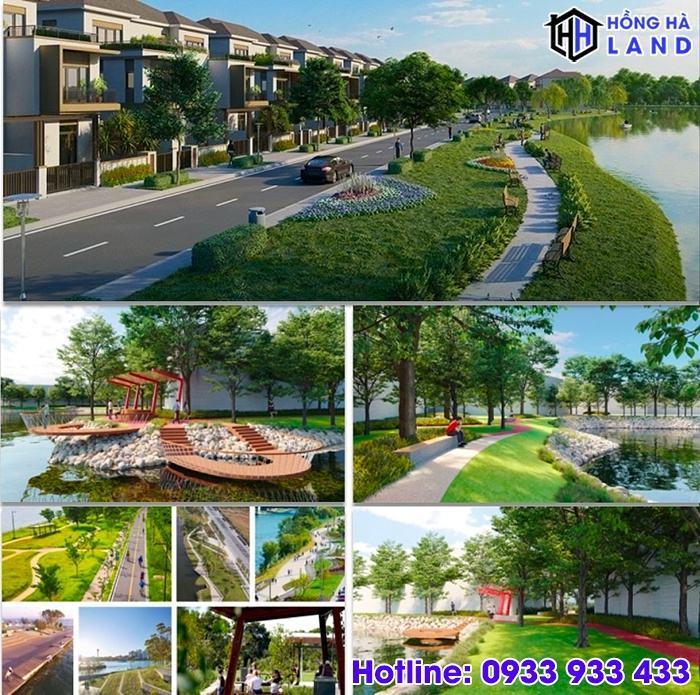 Hệ thống công viên ven sông River Park 1 Aqua City