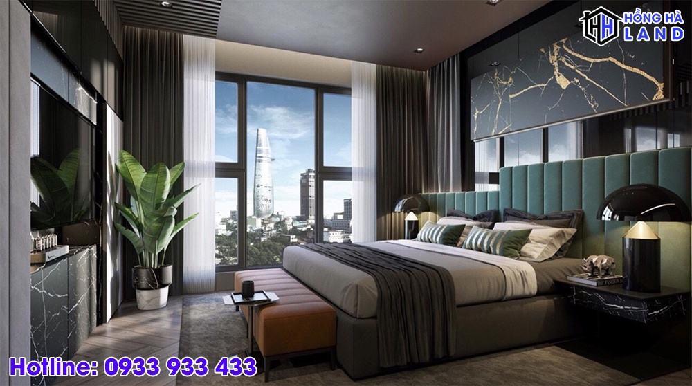 Hình ảnh nhà mẫu phòng ngủ The Grand Manhattan Quận 1