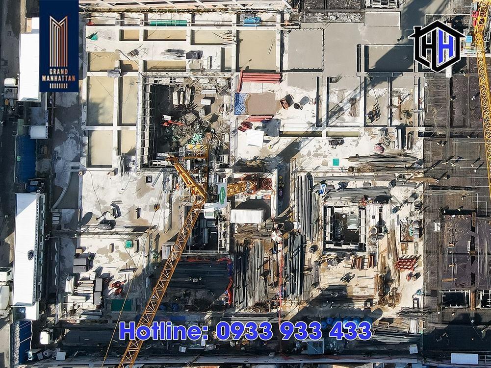 Hình ảnh thực tế dự án The Grand Manhattan Quận 1