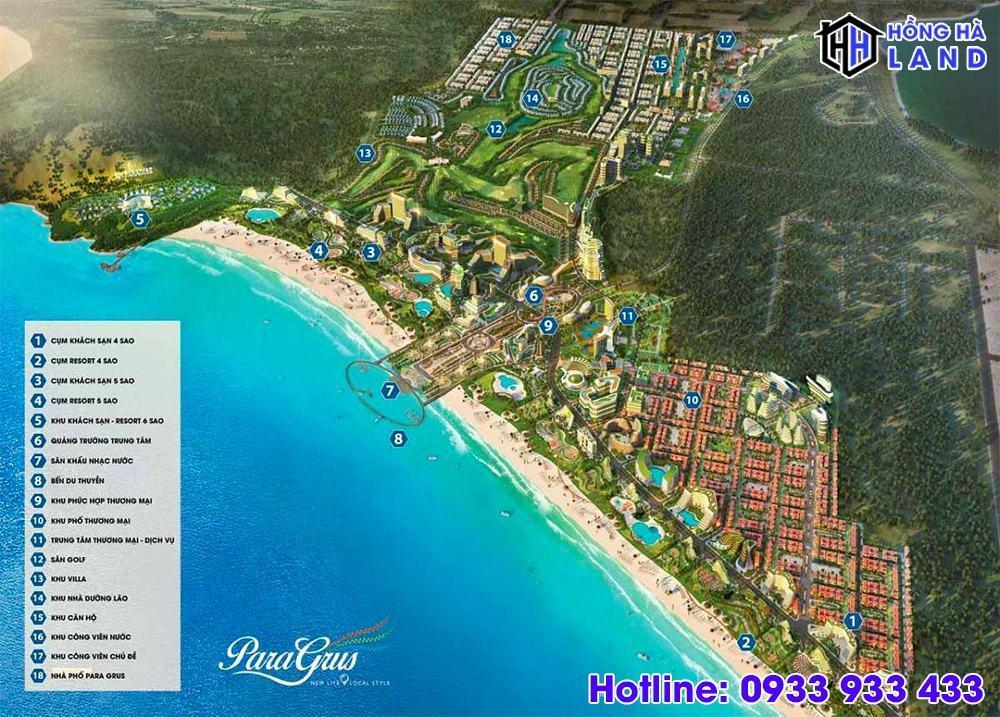 Mặt bằng tổng thể dự án khu đô thị KN Paradise
