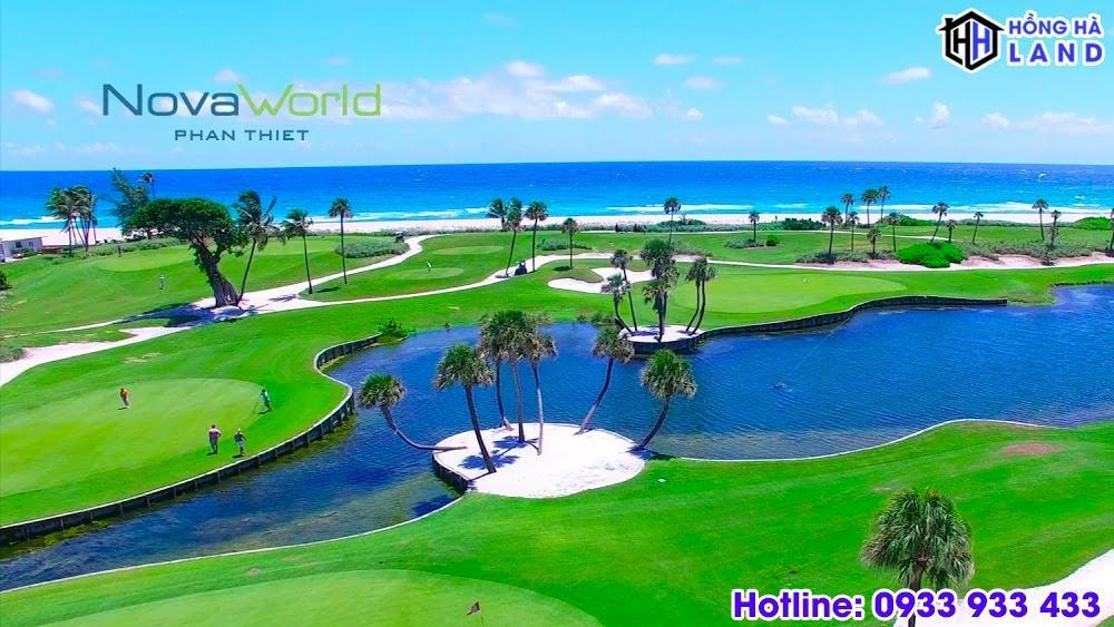 Sân golf đẳng cấp nội khu Novaworld Phan Thiết