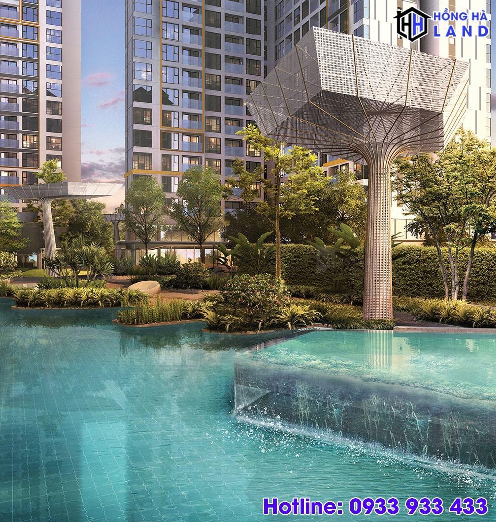 Thác tràn Jucazzi - Dự án căn hộ Masteri Centre Point