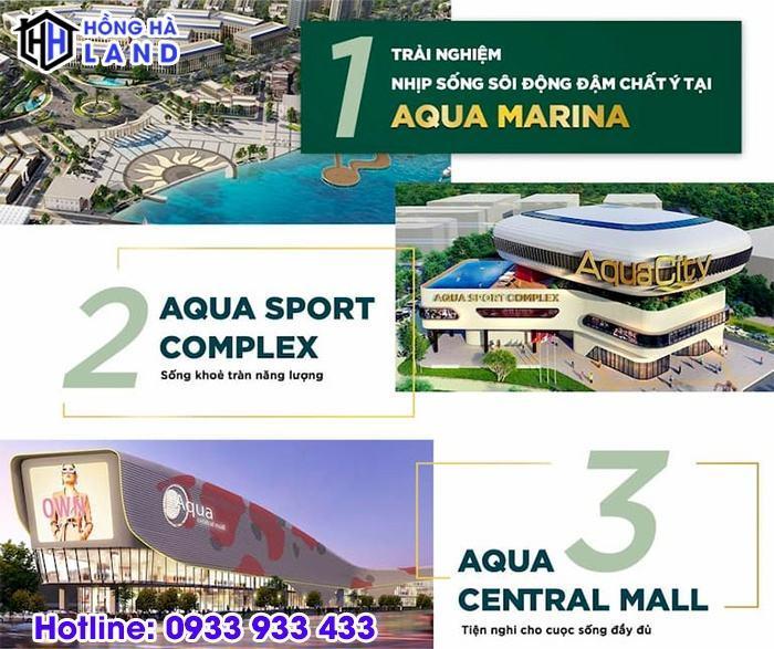 Tiện ích phân khu Ever Green Aqua City