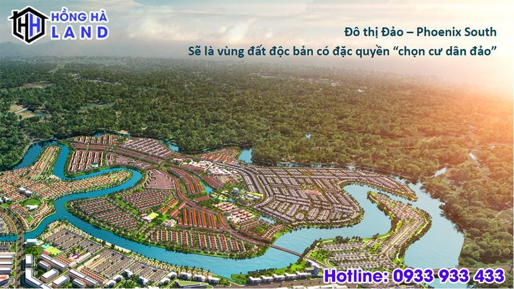 Tổng quan phân khu đảo phượng hoàng Aqua City