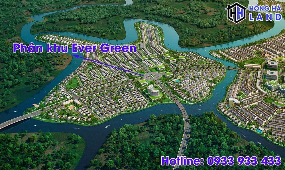 Tổng quan phân khu Ever Green Aqua City