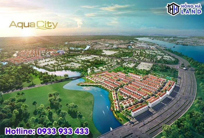 Tổng quan phân khu River Park 1 Aqua City
