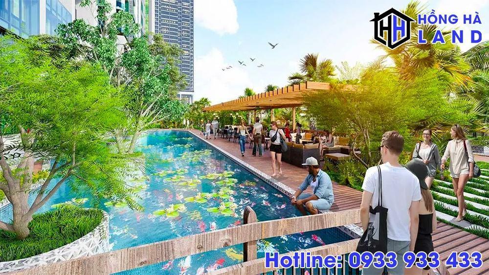 Công viên nội khu dự án Sunshine Continental