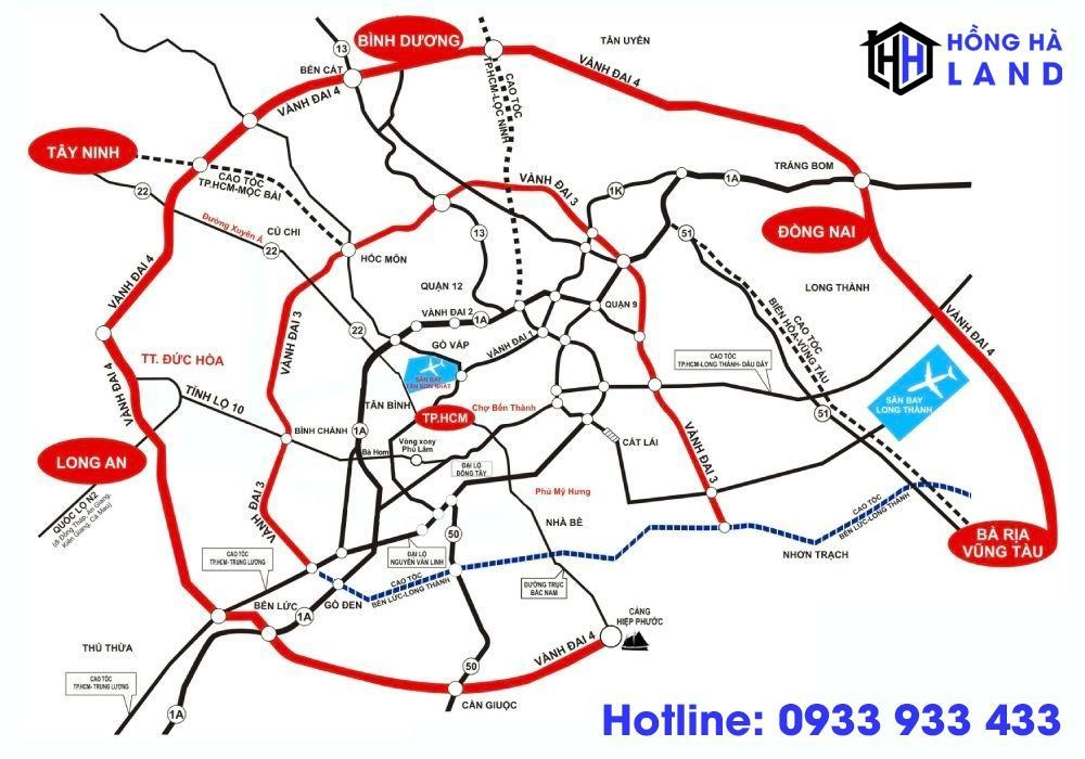 Đường vành đai 4 TPHCM