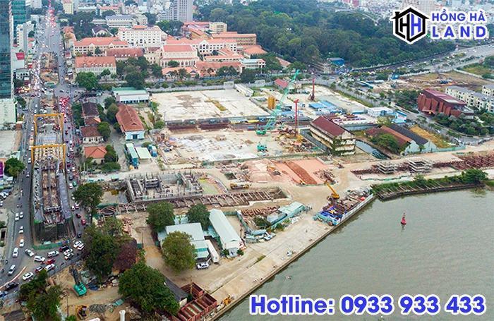 Masterise Group sở hữu 2 lô đất vàng khu đô thị Ba Son