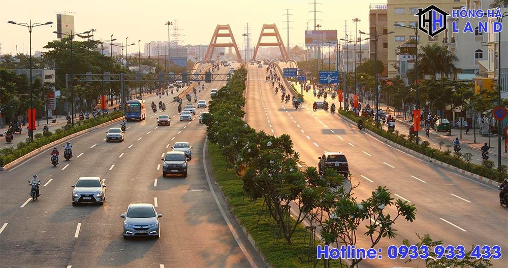 Phạm Văn Đồng - Một phần của vành đai 1 TPHCM
