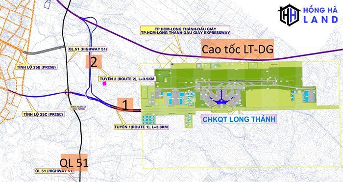 Hệ thống cơ sở giao thông hạ tầng kết nối sân bay Long Thành - Đồng Nai