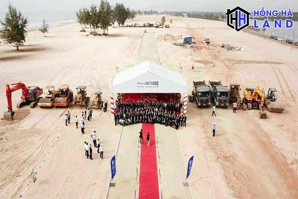 Lễ động thổ dự án Habana Island