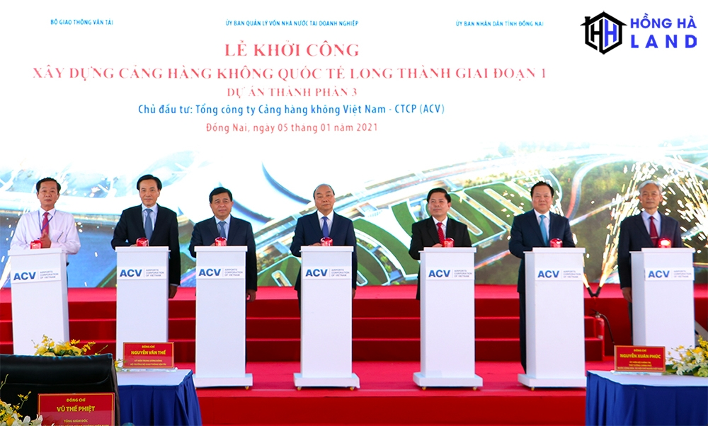 Lễ khởi công dự án sân bay Long Thành Đồng Nai
