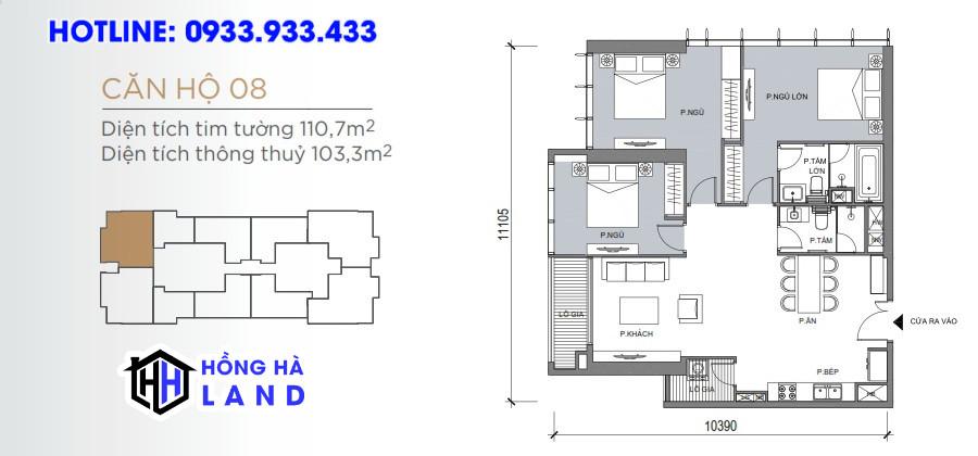 Mặt bằng căn hộ Grand Marina Saigon Quận 1